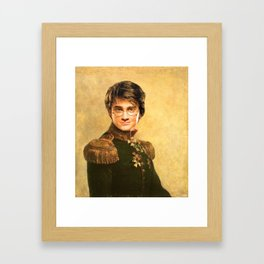Harry General Portrait Painting | Fan Art Framed Art Print