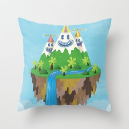 Flight of the Wild Throw Pillow