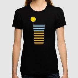Sunset Beach Drinks T-shirt