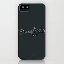 Beards & Ink iPhone Case