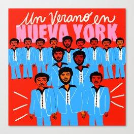 Un verano en NY Canvas Print
