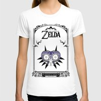 majora T-shirts featuring Zelda legend - Majora's mask by Art & Be