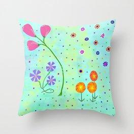 Springtime, original Throw Pillow