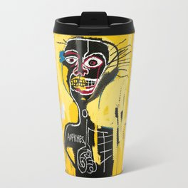 Jean-Michel Basquiat Travel Mug