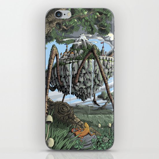 Spiderback Mountain iPhone & iPod Skin