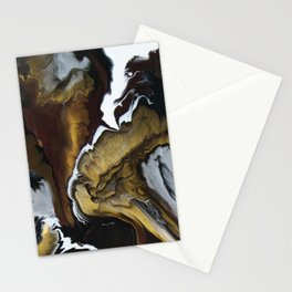 Metallic Storm Stationery Cards
