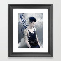 Destructive Wind Framed Art Print