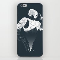 robocop iPhone & iPod Skins featuring Robocop by Alain Bossuyt