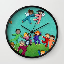 Jubilation Wall Clock
