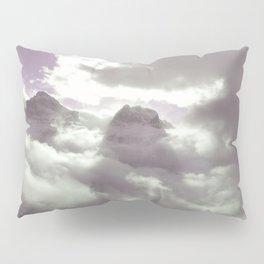 Violet landscape Pillow Sham