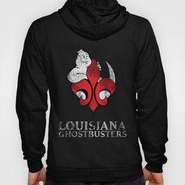 Louisiana Ghostbusters Distressed Logo Hoody
