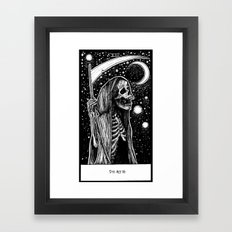 Death Tarot Framed Art Print