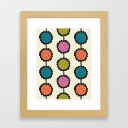 Flower garden Framed Art Print