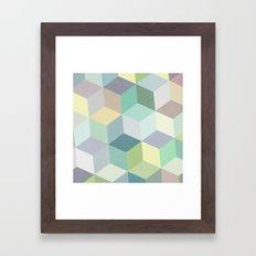 Nordic Combination 12 Framed Art Print