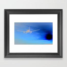 Toward the sun Framed Art Print