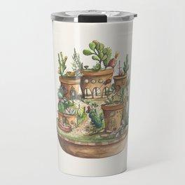 Succulent Village Travel Mug