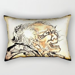The Old Man Rectangular Pillow