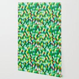 Origami pyramid pattern Wallpaper