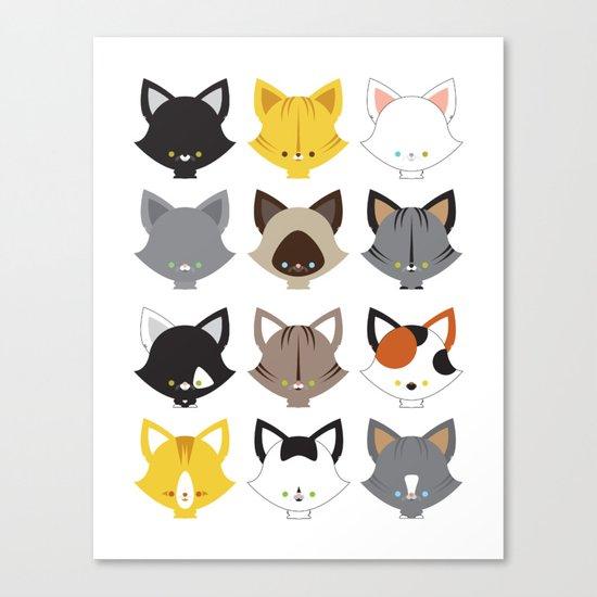 Cats, Cats, Cats Canvas Print