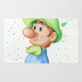Baby Luigi Rug