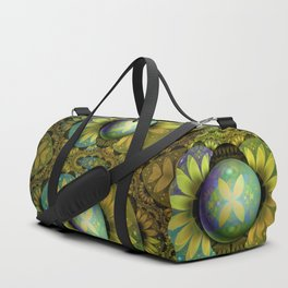 The Enchanted Feathers of the Golden Snitch Duffle Bag