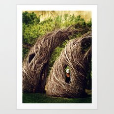 Among the Hidden Art Print