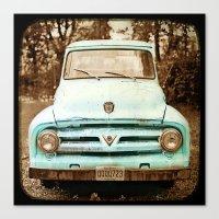 truck Canvas Prints featuring truck by Carl Christensen