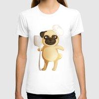 chef T-shirts featuring Chef Pug by Feeliżanka★