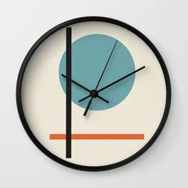 Vintage poster-Bauhaus Juli, August, September 1923. Wall Clock