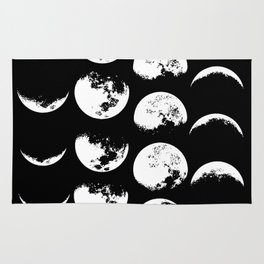 Moon Phases Magic. Rug