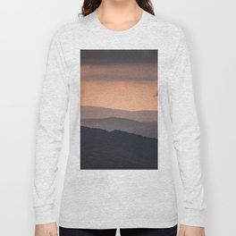 Blue Ridge Parkway Sunset - Shenandoah National Park Long Sleeve T-shirt
