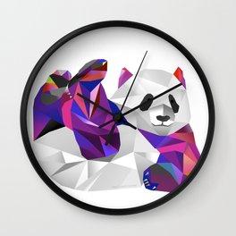 Pauline Panda  Wall Clock