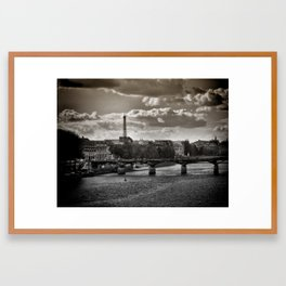 Parisian Outlook Framed Art Print
