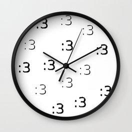 :3 Wall Clock