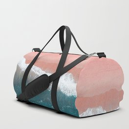 Turquoise Sea Pastel Beach II Duffle Bag