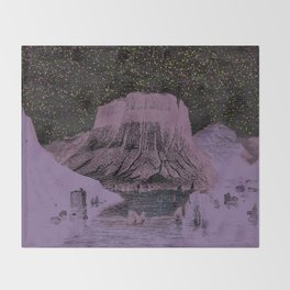 The Stars are out tonight Throw Blanket