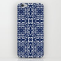 aelwen iPhone & iPod Skins featuring Blue by Shelly Bremmer