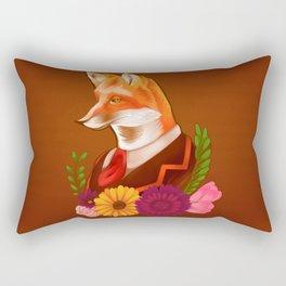 Victorian Fox Rectangular Pillow