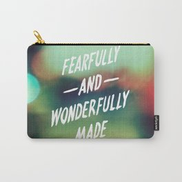 Fearfully and Wonderfully Made 2.0 Carry-All Pouch