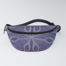 Mandala Drawing Fanny Pack