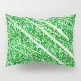 Green Streak Pillow Sham