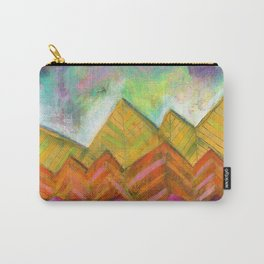 Autumn Mountain Peaks Carry-All Pouch