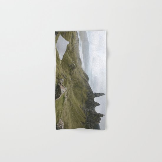 The Old Man of Storr - Landscape Photography Hand & Bath Towel