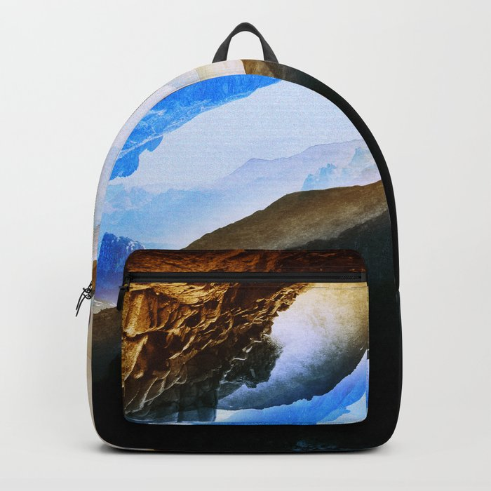 Vision of fire and ice Backpack