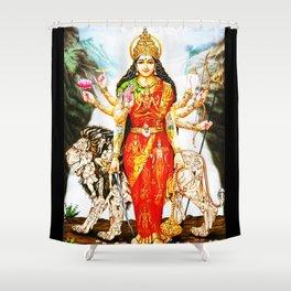Hindu Durga 3 Shower Curtain