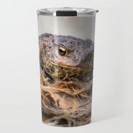 Amphibian, Common British Toad / Frog Travel Mug