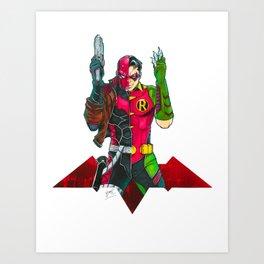 Red Hood : Robin Legacy Art Print
