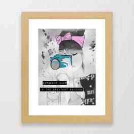 Blair Framed Art Print