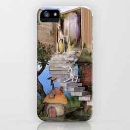 Bringing stories to life iPhone Case