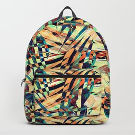 Wild Geometric Party Abstract Geo Pattern Backpack